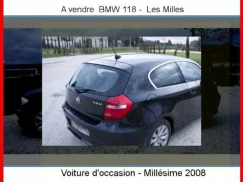 achat vente une bmw 118 les milles youtube. Black Bedroom Furniture Sets. Home Design Ideas