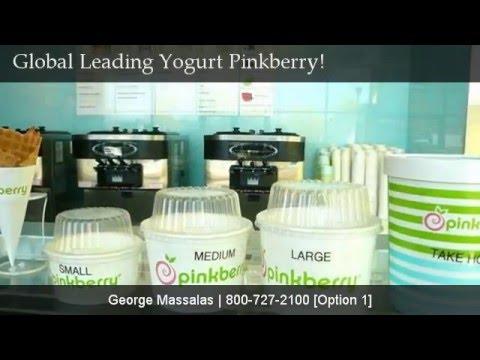 Global Leading Frozen Yogurt Franchise Pinkberry!