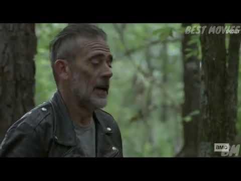 Бета испытывает Нигана. Ходячие мертвецы 10 сезон 6 серия.