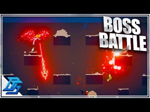 NEW BOSS BATTLES, I AM THE BOSS,BLUE! - Stick Fight: The Game