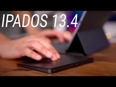 Обзор IPadOS 13.4 / Как подключить мышь к IPad и превратить его в MacBook