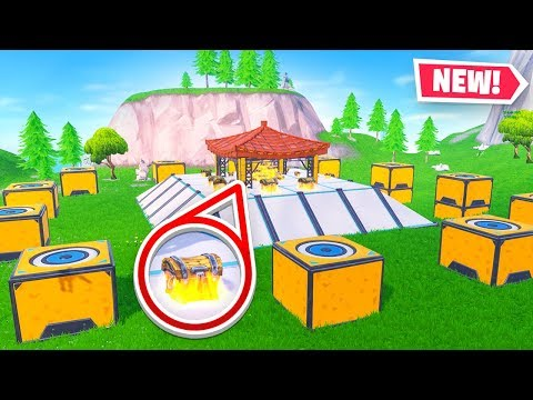 Playing HUNGER GAMES in Fortnite