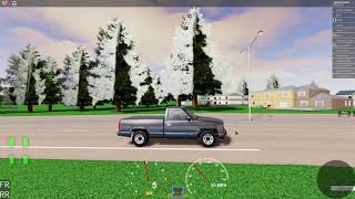 Driving La 454SS around roblox kuhh
