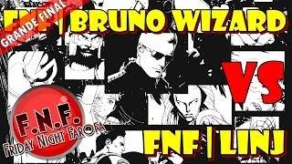 UMvC3 - FNF | Bruno Wizard vs FNF | Linj (Grande Final + Entrevista)