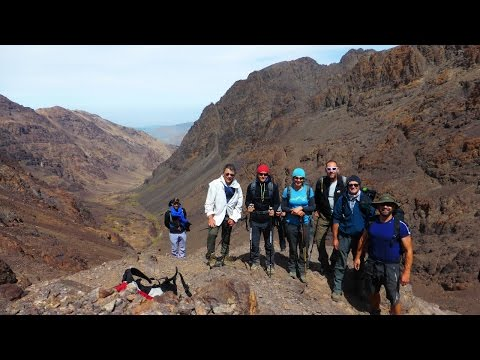 Ounoums Gorge to Ouanoukrim & Toubkal Refuge, Atlas Mountains, Morocco - 26 September 2016