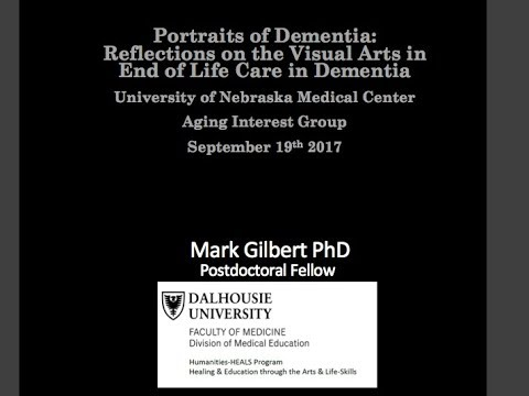 Portrait Of Dementia, University of Nebraska Medical Center.
