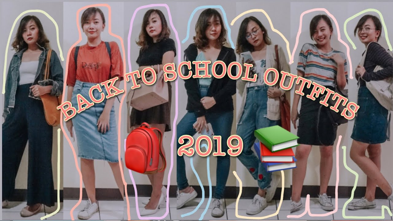 [VIDEO] - Back to school outfits + try on 2019 | Ann Mauleon (Philippines) 7