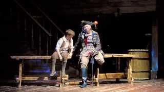 """Мюзикл """"Остров сокровищ"""" - """"Песня о кораблях"""". Исп.:  Ален Ершов, Эдуард Аблам (живой звук)"""