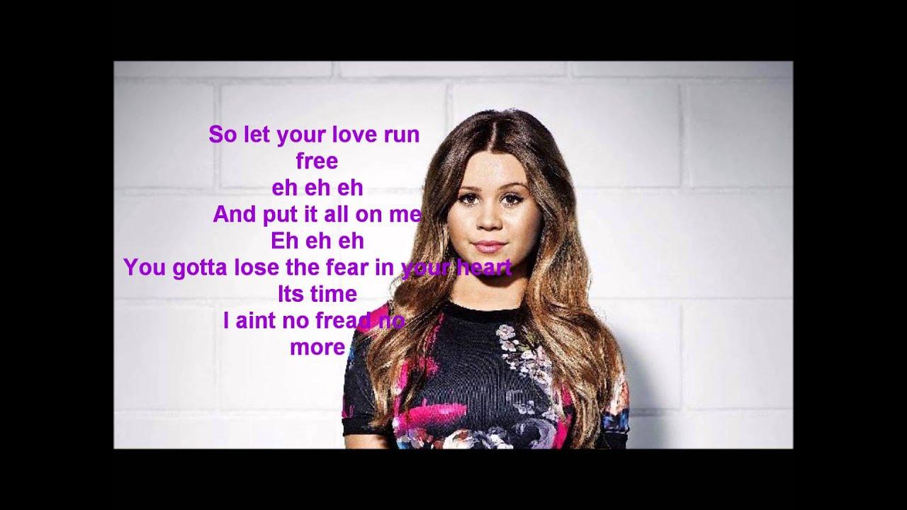 Lisa Ajax Love Run Free Lyrics Youtube