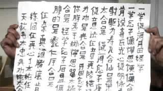 zhiu liang kung fu reparatur kallegraphie