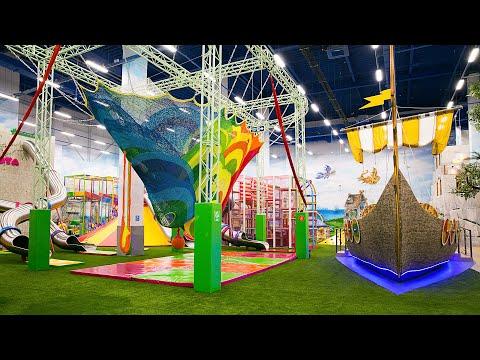 Волшебное открытие парка Joki Joya в ТРЦ Саларис