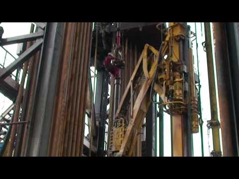 Offshore Work at Rig Floor.