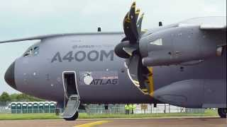 Airbus Military A400M Atlas - Airbus Military - RIAT 2012 - NunosFlyingMachines.com (HD)