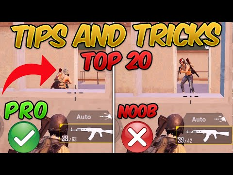 Top 20 Tips & Tricks in PUBG Mobile that Everyone Should Know (From NOOB TO PRO) Guide #5