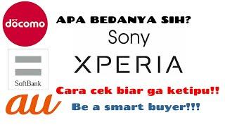 PERBEDAAN Sony Xperia Xz global Dan Docomo.