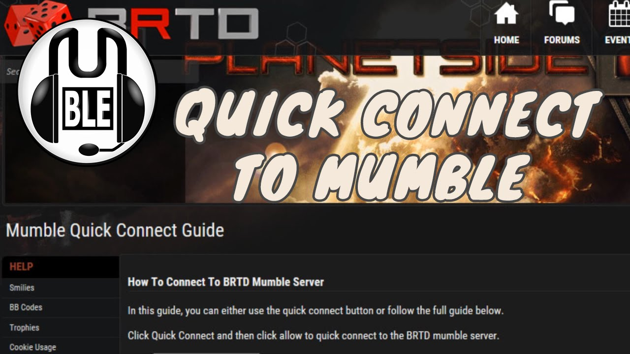 how to connect to mumble server