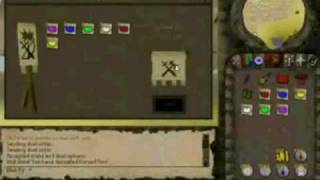 RUNESCAPE Partyhat Set Stake - 2006! D4rk Elf vs Cursed_You (1.4B Worth)