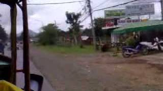 Going to Bus Terminal @ Valencia Bukidnon
