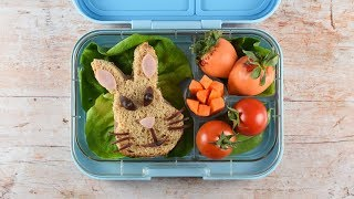 Peter Rabbit Themed Bento Lunch! (Ad)