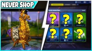 😱 FREE LAMA! 🛒 SHOP from TODAY: glider, pickaxe! - Fortnite Battle Royale