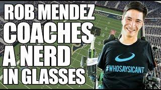 Coach Rob Mendez Coaches Espn's Tyler Erzberger In Madden | Espn Esports
