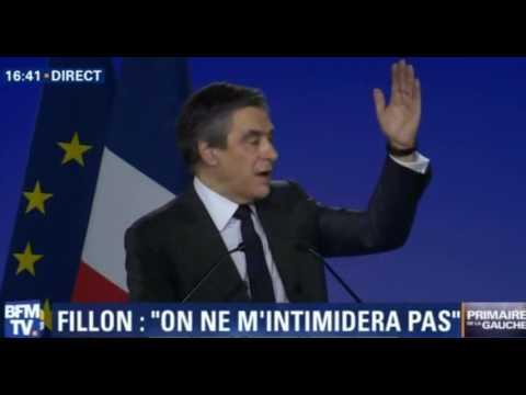 Meeting de François Fillon à Paris La Villette   Replay complet   29 01 2017