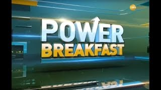 Power Breakfast Major triggers that should matter for market today, 22nd October 2019