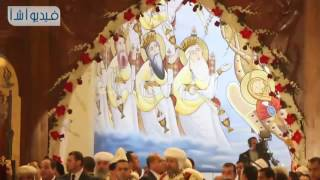 بالفيديو: كلمة الرئيس السيسي  في عيد الميلاد  المجيد من داخل الكتدرائية