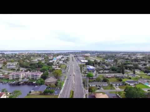 cape coral drone - timelapse