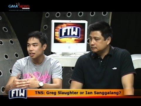 FTW: TNS: Greg Slaughter or Ian Sanggalang?
