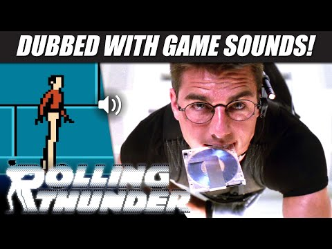 'Mission: Impossible' with ROLLING THUNDER (NES) sounds!