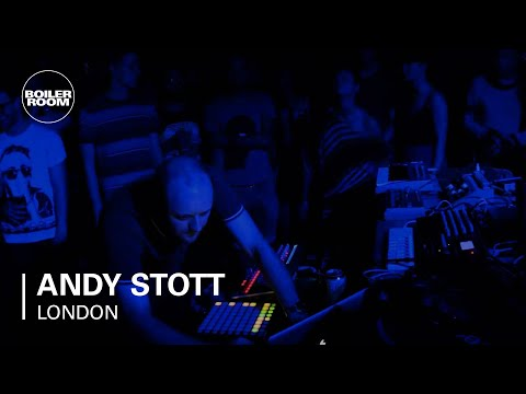 Andy Stott live in the Boiler Room