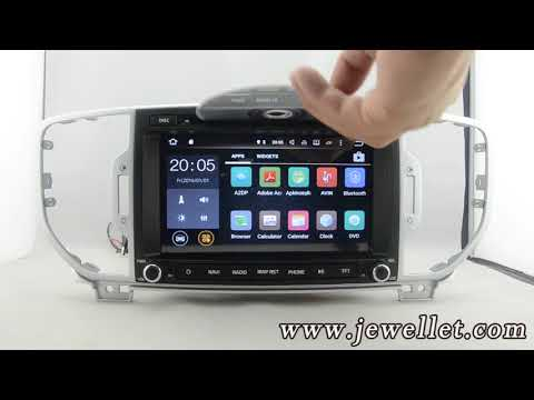 Android Kia Sportage 2017 DVD GPS Navigation With Bluetooth,3G/Wifi,DVR,1080P