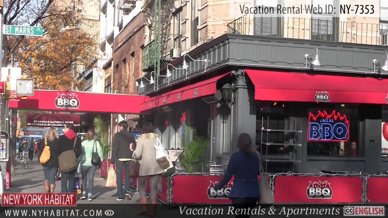 New York City Video Tour Of A Vacation Rental On 13th Street East Village