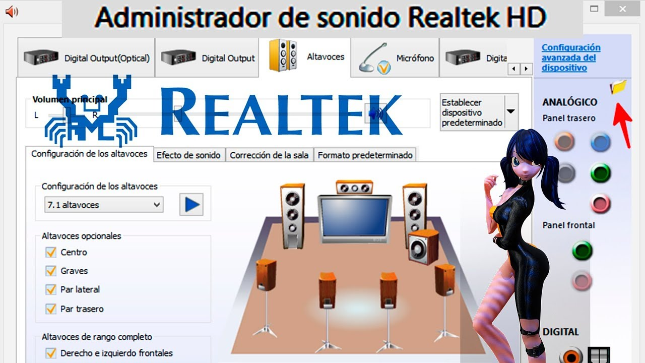 driver de audio realtek para windows xp universal