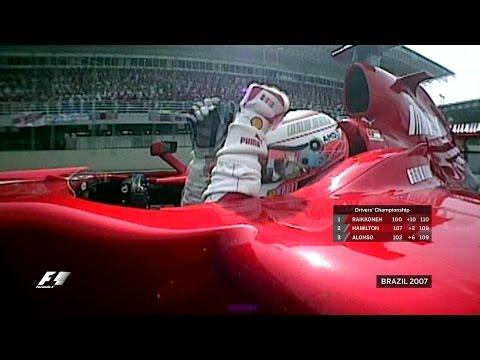Raikkonen Wins Three-Way Title Battle in Sao Paulo | 2007 Brazilian Grand Prix