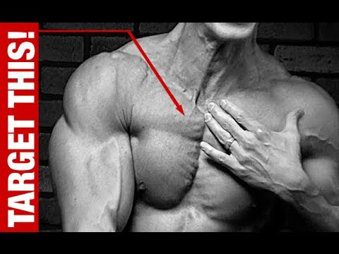Chest Exercise (UPPER and INNER Pecs with 1 Dumbbell)