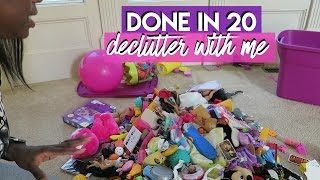 Done in 20 | Declutter the Toys With me