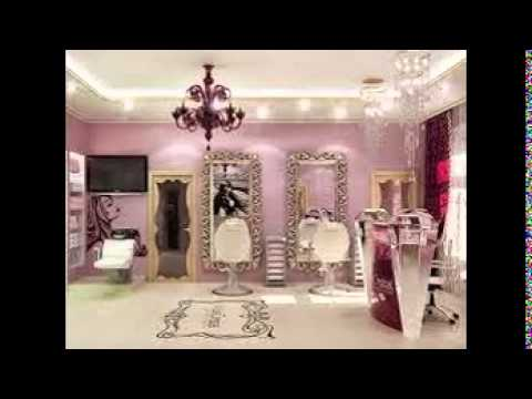 Hair Salon Decorating Ideas - YouTube