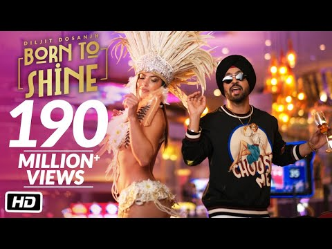 diljit-dosanjh:-born-to-shine-(official-music-video)-g.o.a.t