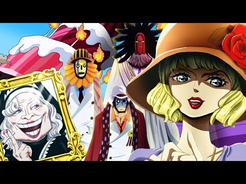 CP0 Destructive Powers - Stussy's Mission At Whole Cake Island (One Piece Chapter 878+)