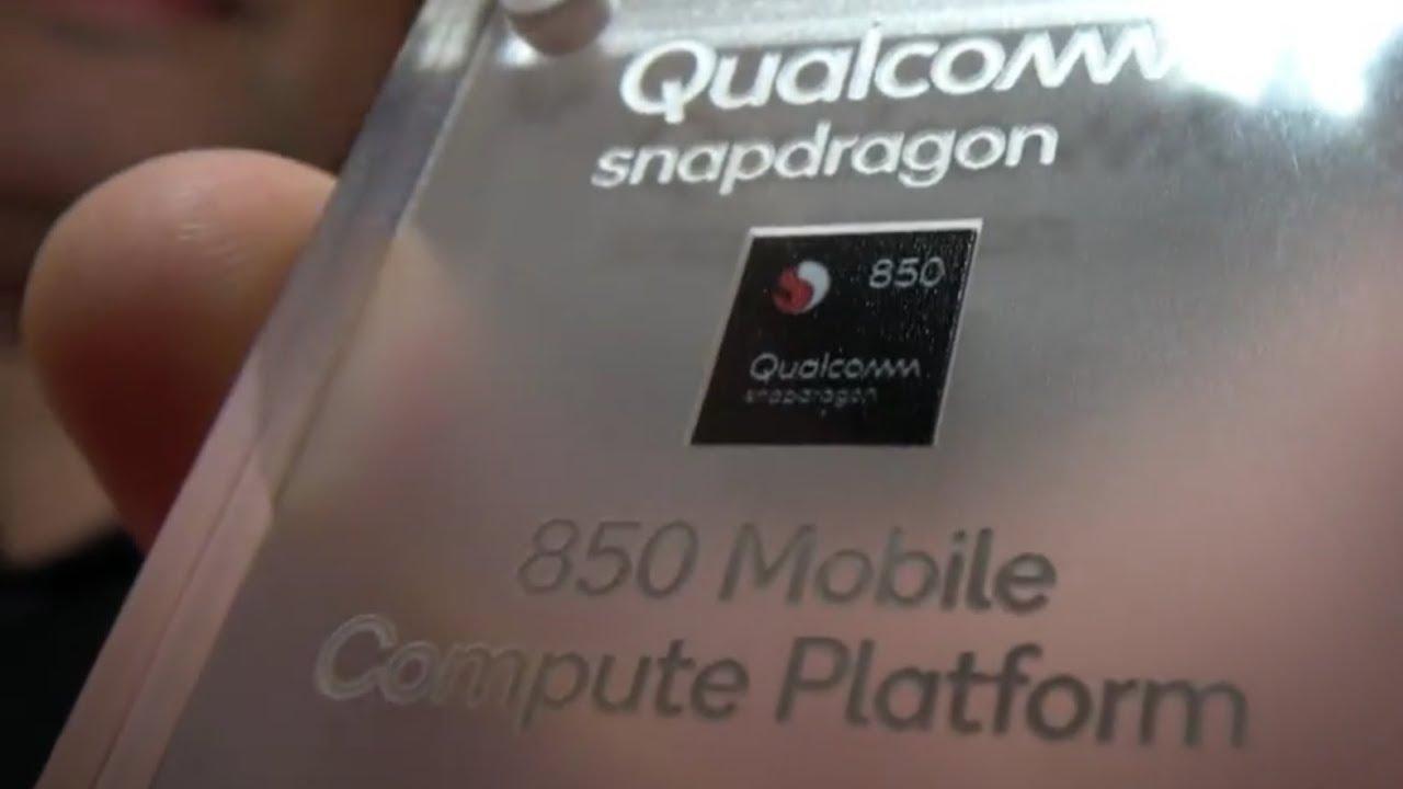 Qualcomm Snapdragon 850 for Windows 10 Laptops