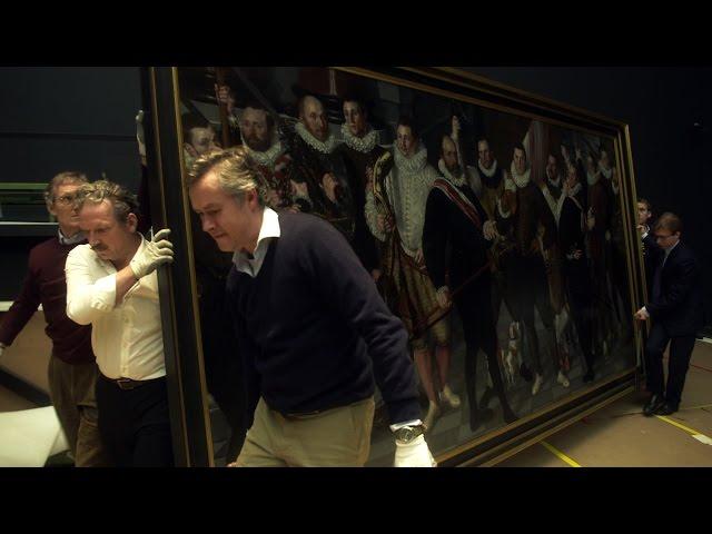 アムステルダム国立美術館の改修工事を追う!映画『みんなのアムステルダム国立美術館へ』予告編