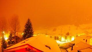 Timelapse nevicata 24h 4K