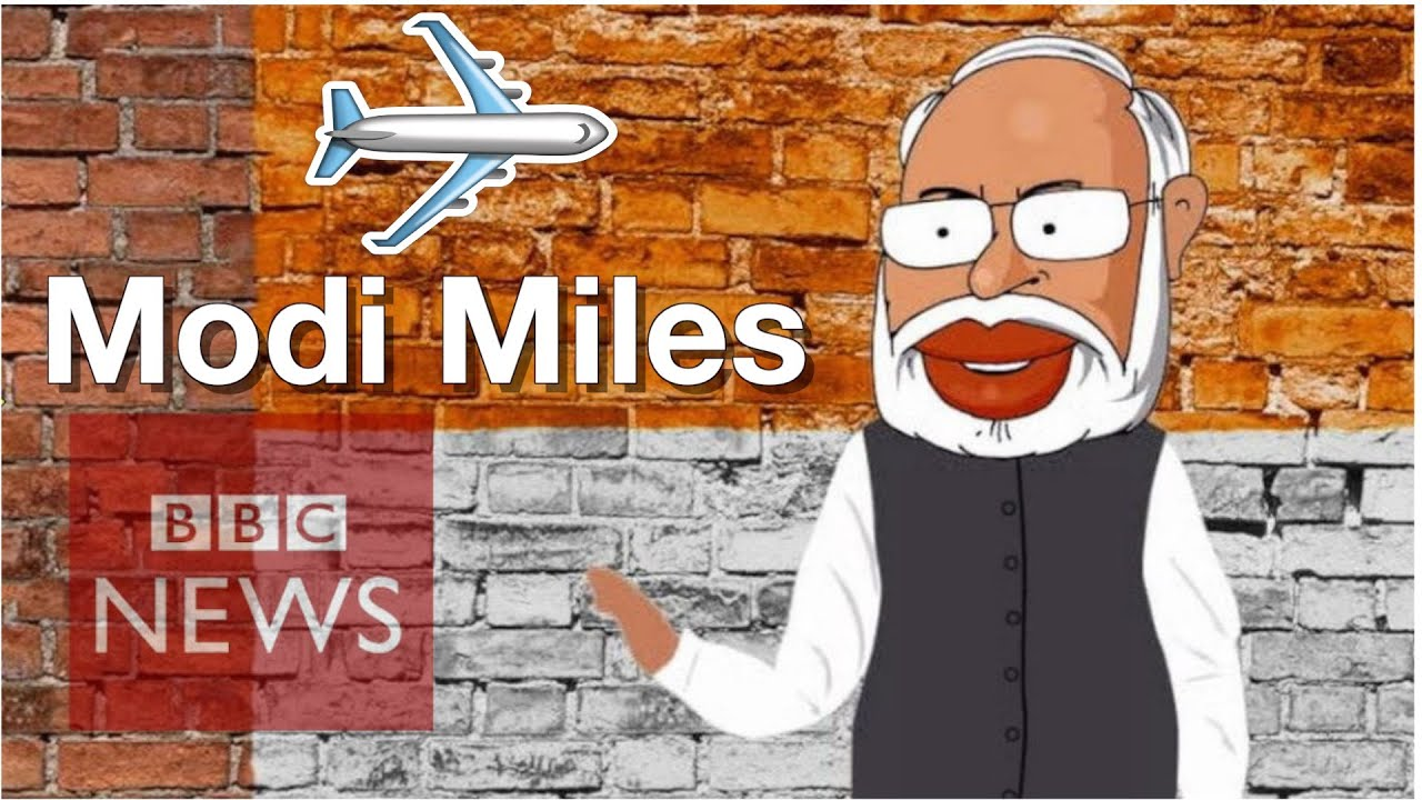 Why is India PM Modi always flying? BBC News