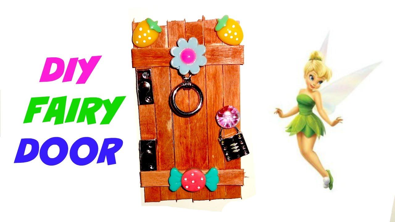 How to make a fairy door youtube for Make fairy door craft