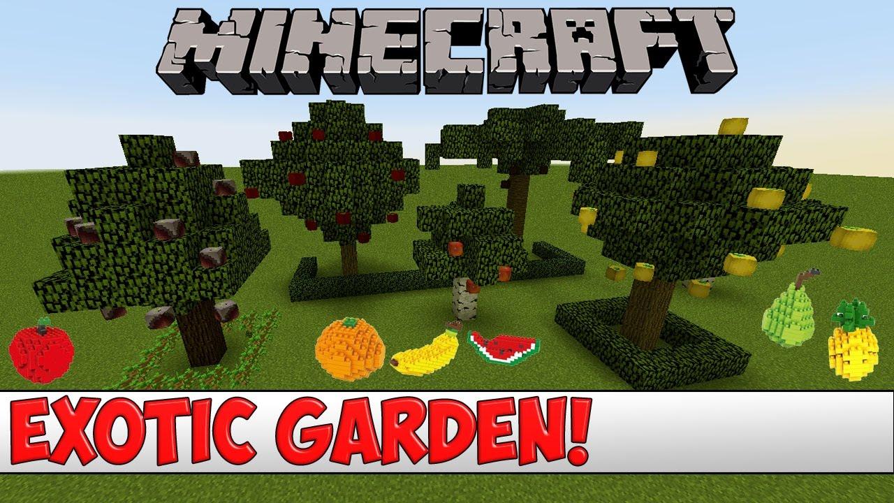 Minecraft Plugin Tutorial Exotic Garden