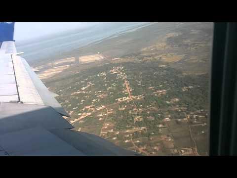 landing at banjul airport the gambia