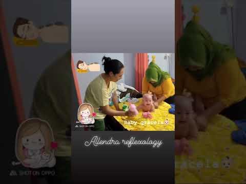 Massage bayi,allendrareflexology