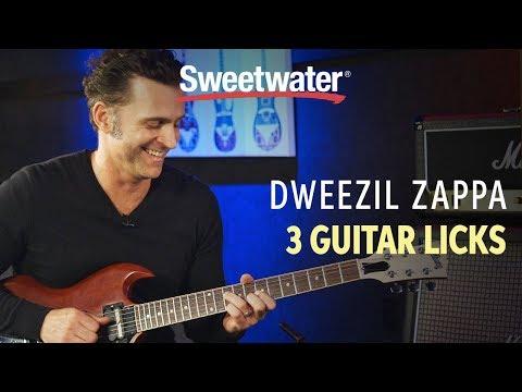 3 Frank Zappa Licks Shown By Dweezil Zappa Mp3